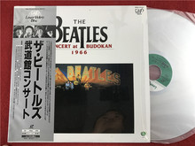 披头士 The Beatles Concert at Budokan 1966 日版LD镭射碟