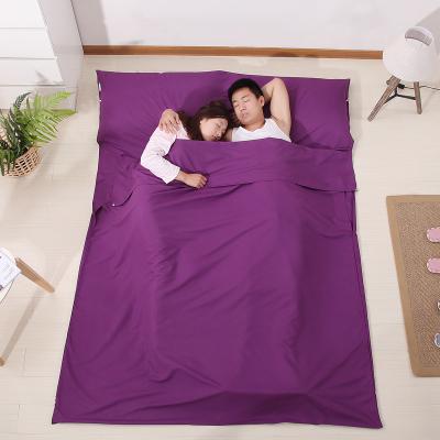 床单隔脏睡袋旅游酒店双人旅游宾馆纯棉便携四季纯棉超薄超轻单人