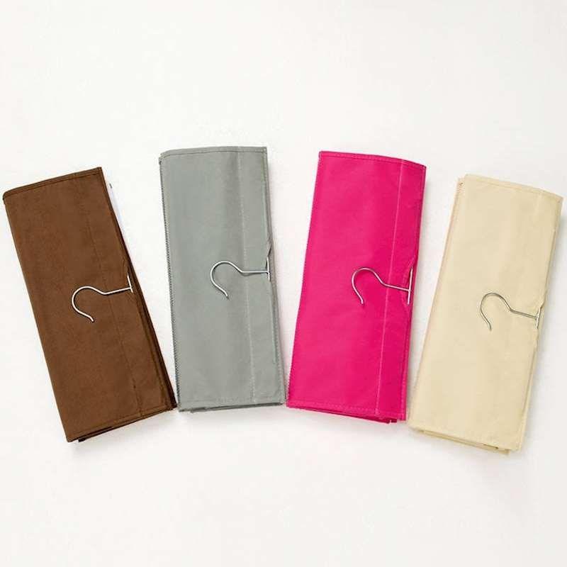 衣橱放包包收纳挂袋 衣柜悬挂式多层收纳袋挂门墙布艺整理防尘袋