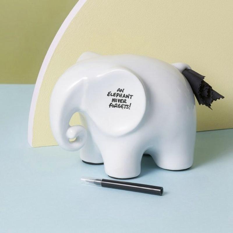 英国 可擦试记事大象/Memo Elephant 创意记事备忘架