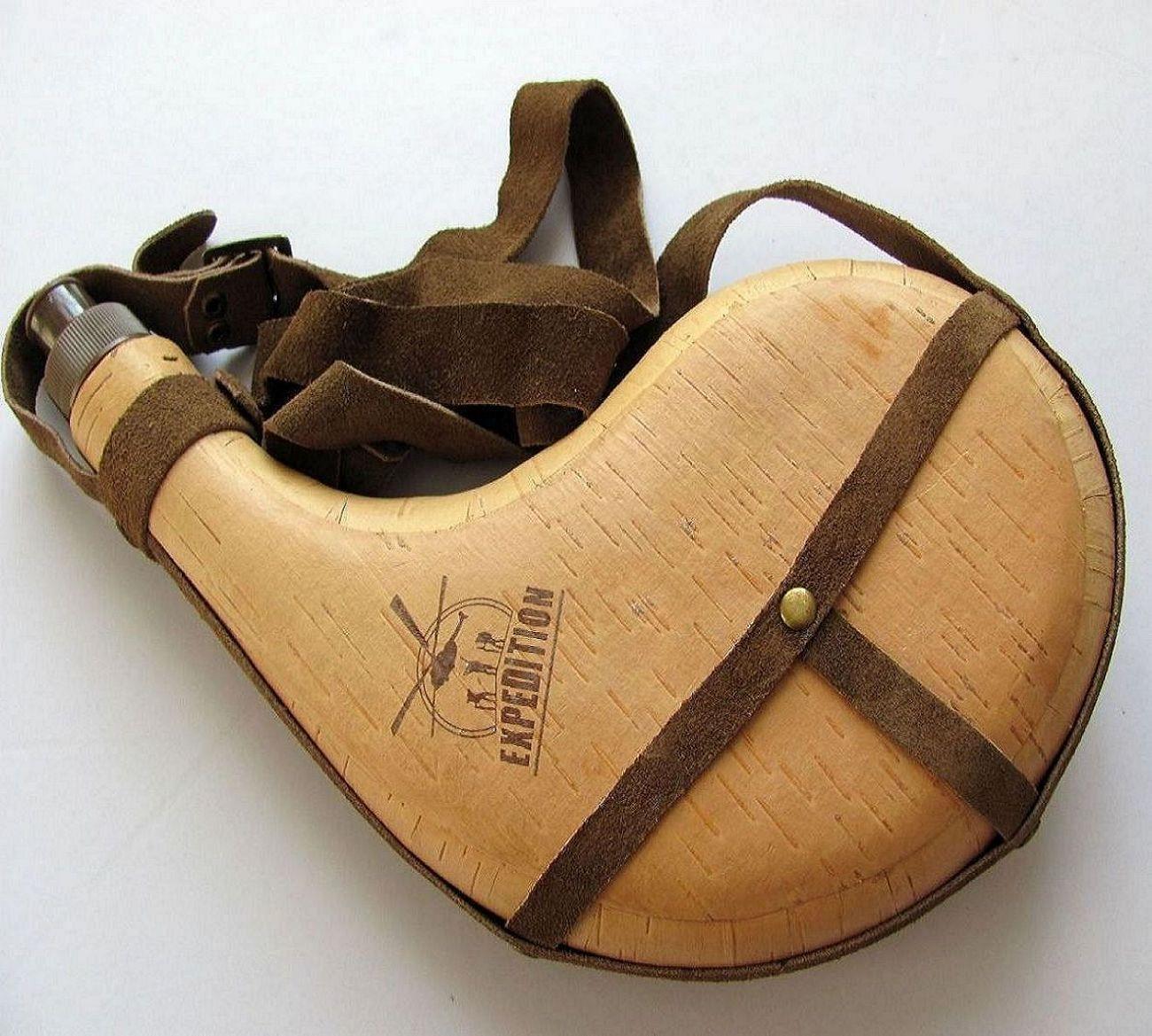 皮囊自然桦树皮酒壶酒囊个性工艺品老公 水壶水袋父古代创意
