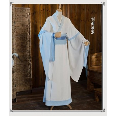 魔道的祖师cos服装蓝忘机蓝湛蓝思追蓝景仪蓝曦臣少年cos服