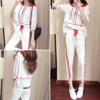 夏季洋气御姐轻熟风两件套网红时尚女装2019新款气质休闲运动套装