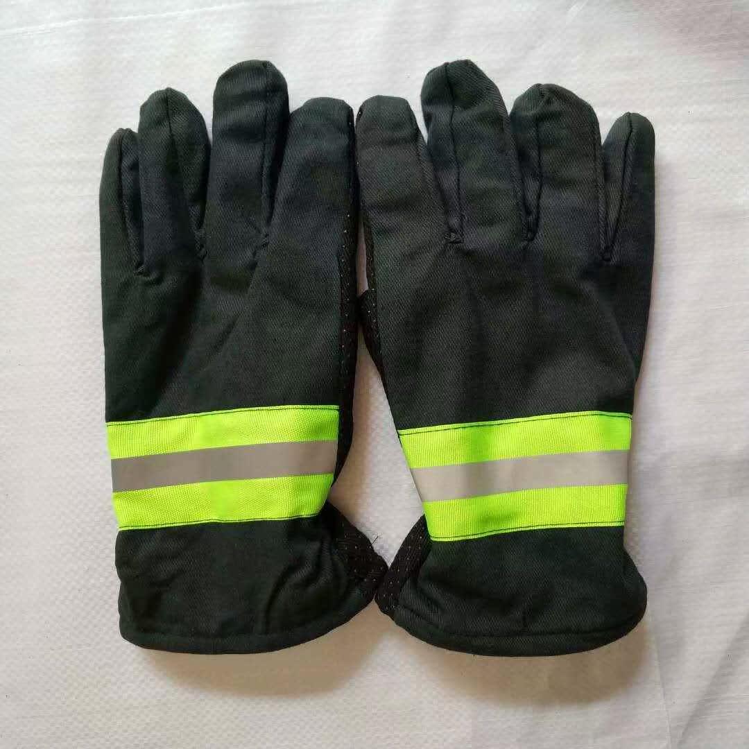 02款消防手套隔热防滑阻燃防寒手套火灾逃生配消防服包邮