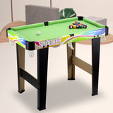 YDZC children's pool table toy home American black 8 billiard table parent-child interaction snooker boy girl