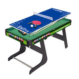 YDZC children's multi-function pool table Wooden multi-function combination table tennis hockey three-in-one parent-child interaction