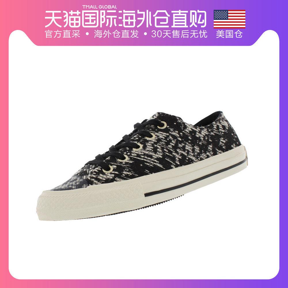 美国直邮Converse匡威AllStar时尚女子学生低帮舒适帆布鞋
