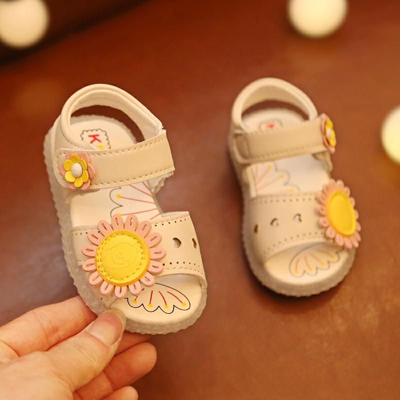 岁小童学步鞋子底婴儿一1-2公主鞋
