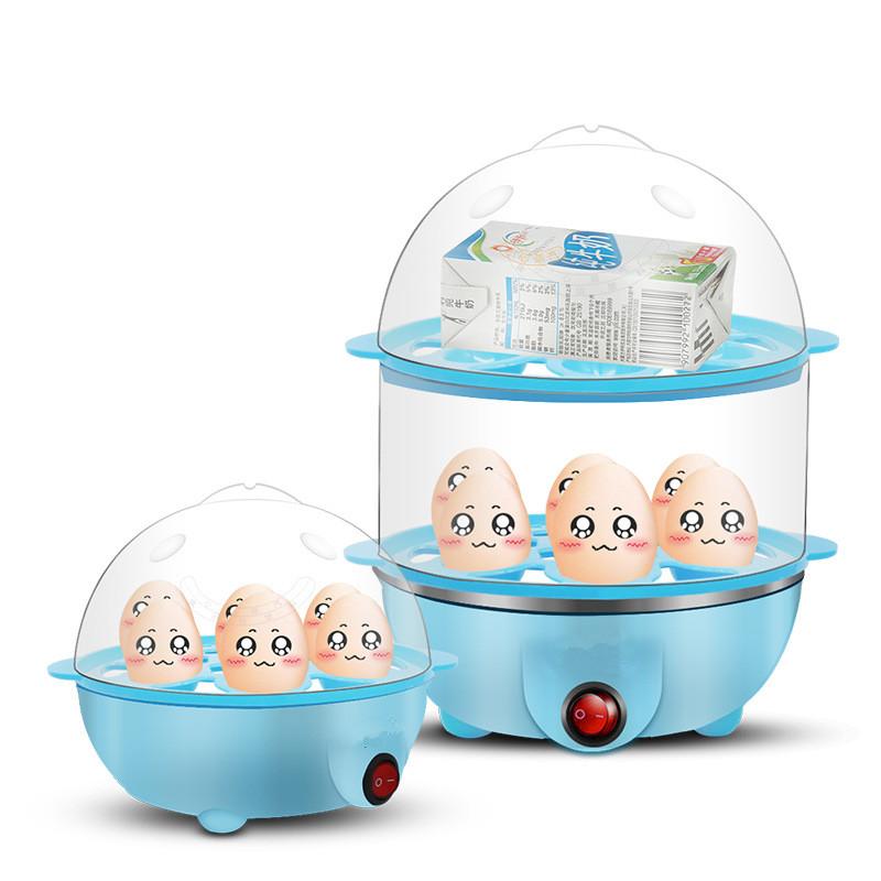 煮蛋器大多功能 蒸蛋器 小型煮鸡蛋羹机自动断电家用蒸煮热全能
