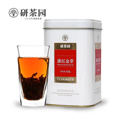 研茶园茶叶 云南滇红特级红茶 正宗金丝滇红金芽 工夫红茶