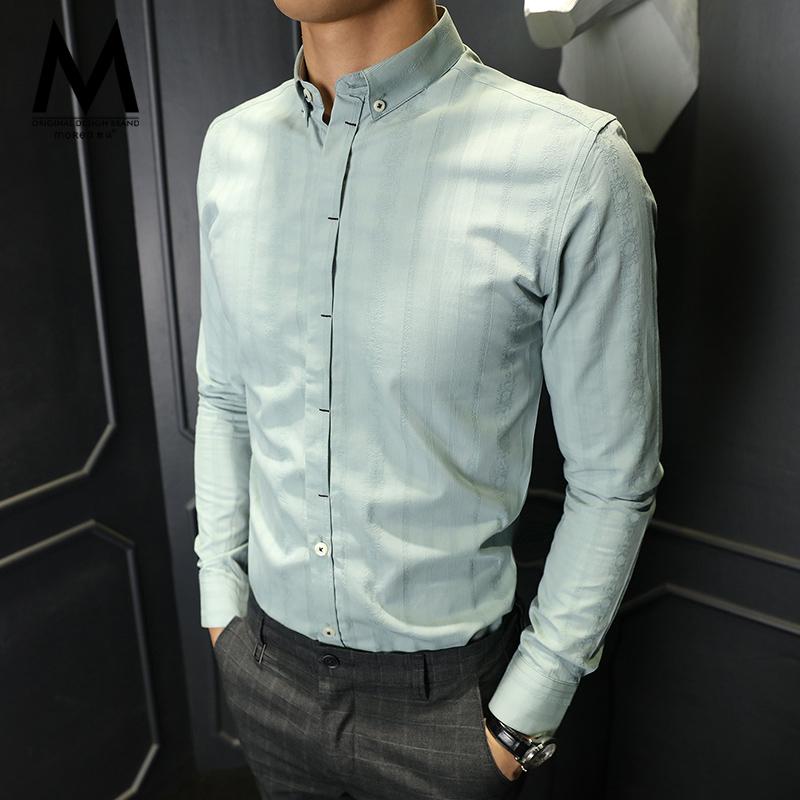 韩版潮男寸衫