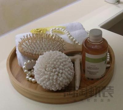 卫生间托盘组合摆件陶瓷卫浴样板间摆设酒店别墅软装 家居装饰品