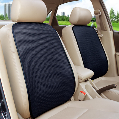 汽车腰靠冰丝透气车用靠垫夏季单片座椅背垫秋冬加厚毛绒靠背腰垫