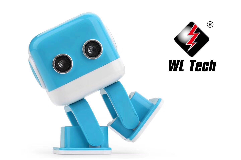 伟力F9方小方智能娱乐减压机器人会表情唱歌跳舞故事手机蓝牙音箱