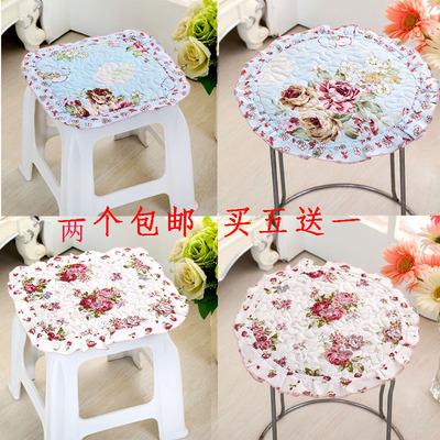 小圆垫方凳子坐垫布艺儿童幼儿园防滑可折叠椅垫子可洗凳子屁股垫