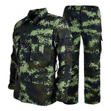 Genuine 16-style new fire camouflage suit men's summer wear-resistant thin section special forces Wuxia camouflage training suit