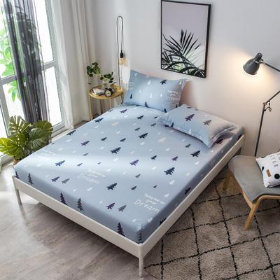 2018新款床罩床笠单件卡通纯棉可爱一米五全棉床套床罩保护套防滑