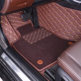 宝马5系脚垫全包围地毯525li专用单片丝圈原厂18款个主驾驶新踩室