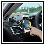 Car Mobile Phone Holder Suction Cup Car Multifunction Car Dashboard Outlet Navigation Navigation Universal