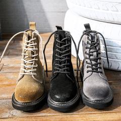 前系带女短靴