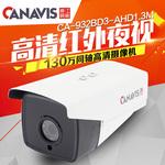 江能威視 百萬高清模擬攝像機 AHD 960P同軸監控頭 室外防水機