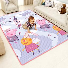 儿童爬行垫加厚婴儿客厅爬爬垫小孩泡沫地垫子家用宝宝可折叠地毯图片