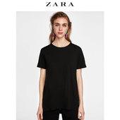 ZARA 春夏女装 基本款圆领短袖T恤 04174025800
