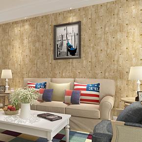 复古怀旧斑驳做旧个性纯纸墙纸美式乡村卧室客厅电视背景墙壁纸