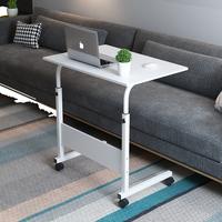 书桌学生笔记本电脑单人增高架床上沙发床头物架大学简易电脑桌