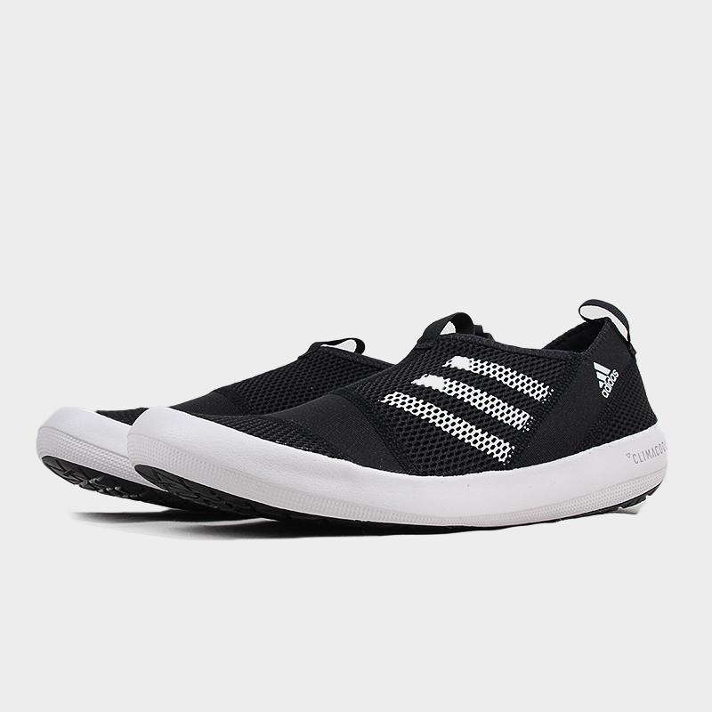阿迪达斯男鞋夏季运动鞋户外防滑一脚蹬溯溪涉水鞋B44290 G27378