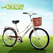 24寸26寸成人学生自行车双人座带小孩车女式单车亲子20母子车男士