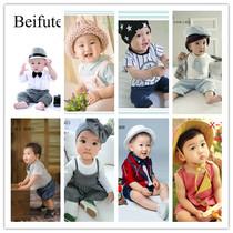 2018新款周岁男宝宝拍照衣服1-2岁儿童摄影照相服装影楼艺术写真