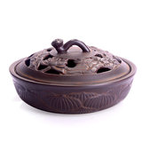 Household large mosquito incense burner home indoor modern Japanese creative ceramic dish incense sandalwood mosquito incense box