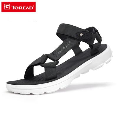 探路者凉鞋男女士2018夏季新款户外运动休闲涉水海边防滑沙滩鞋子