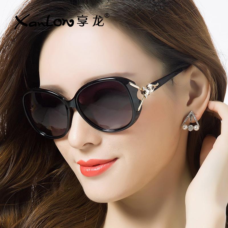太阳镜女潮偏光女士墨镜圆脸2017新款明星同款韩国近视太阳眼镜
