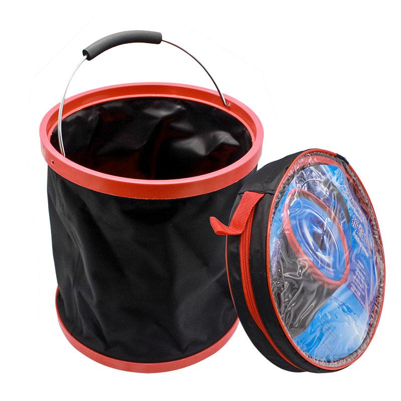 折叠桶洗车用水桶大号洗车桶便携式折叠水桶多功能车载旅行钓鱼桶