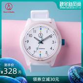 简约防水学生手表光能男表女表RP26J009Y新款 西铁城Q&Q手表时尚