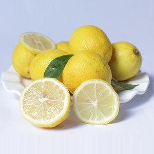 柠之恋 安岳柠檬新鲜黄柠檬二级水果皮薄多汁批发4斤包邮鲜柠檬