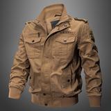 特种兵2019春季男士多口袋军装外套纯棉休闲大码水洗耐磨工装夹克