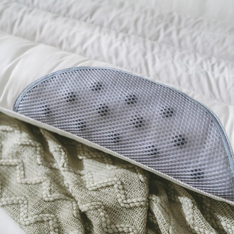 南极人情侣1.2m决明子双人长款荞麦枕头1.5米护颈长枕芯成人1.8