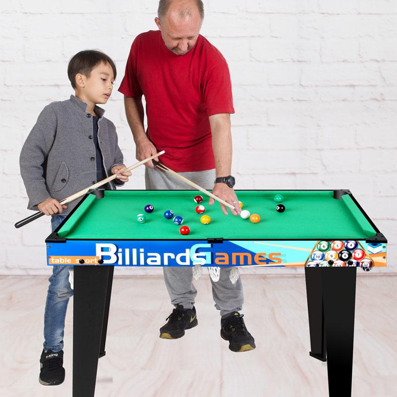 宏登儿童家用台球桌美式黑8标准桌球台室内男孩玩具大号台球桌