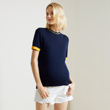 New T-shirt for pregnant women in spring and summer