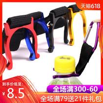 型挂扣快挂户外多功能登山扣装备挂钩钥匙扣水壶铝合金D个背包5