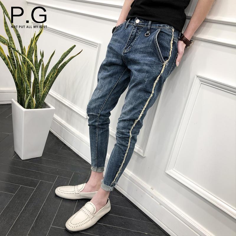 个性小脚裤子