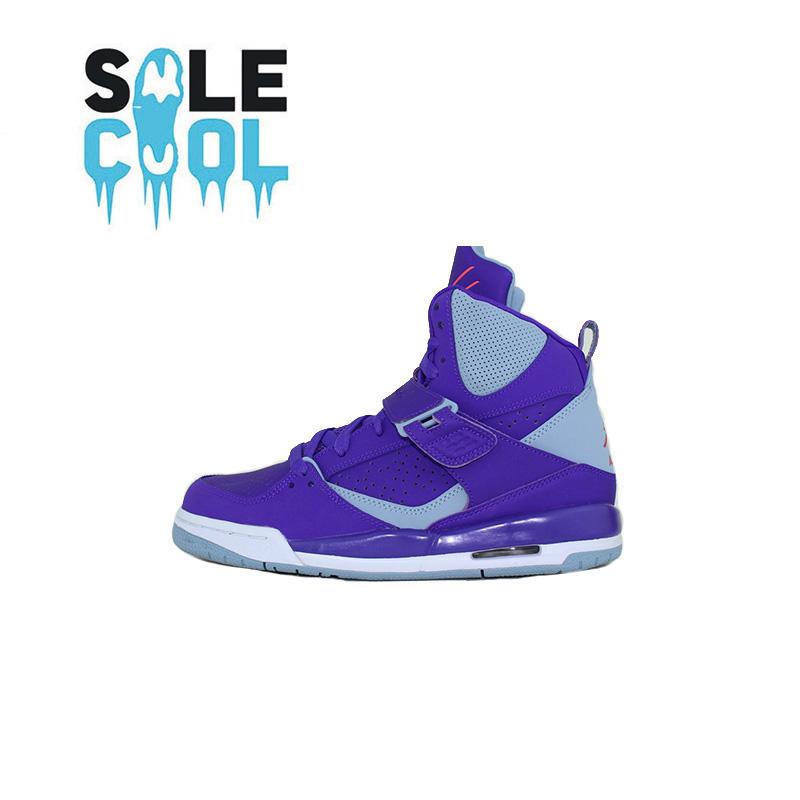 耐克JORDAN FLIGHT 45 HIGH IP GG 蓝紫女子休闲篮球鞋837024-403