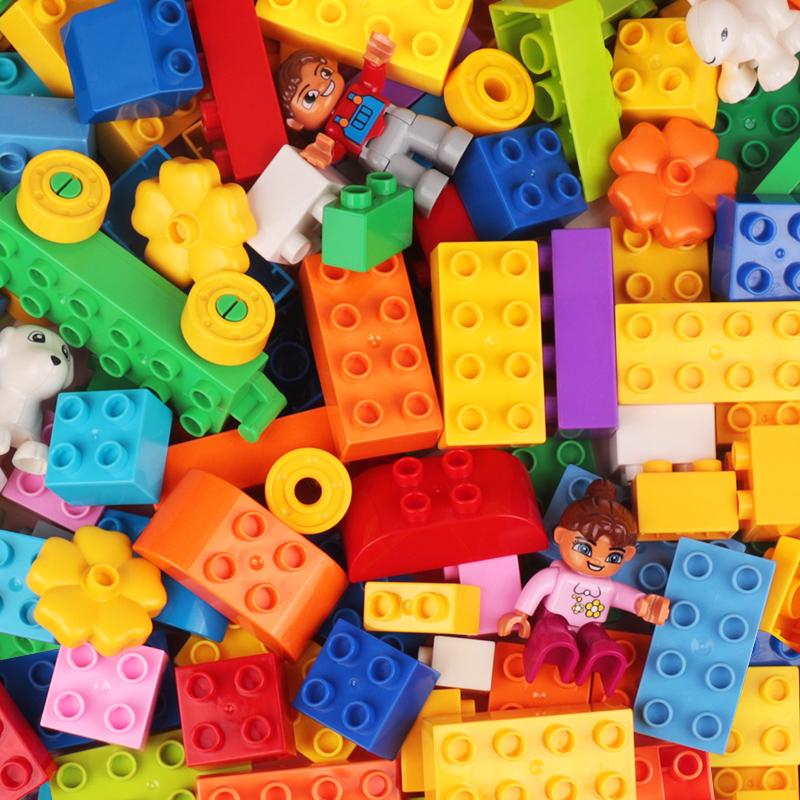 儿童积木樂高3-6岁宝宝1大颗粒2拼装大号智力动脑男女孩4益智玩具