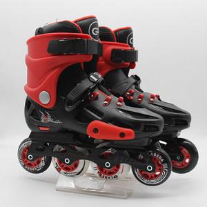 拉贝达直排轮滑溜冰鞋旱冰鞋青少年儿童全套装成人男女可调