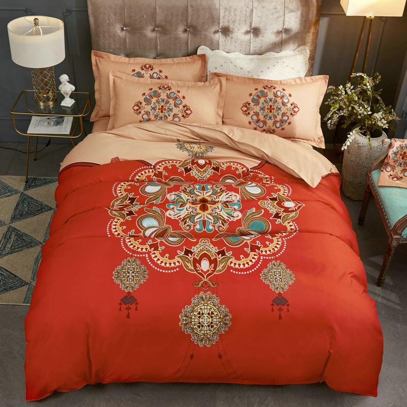 Свадебные постельные комплекты Артикул 587874904683
