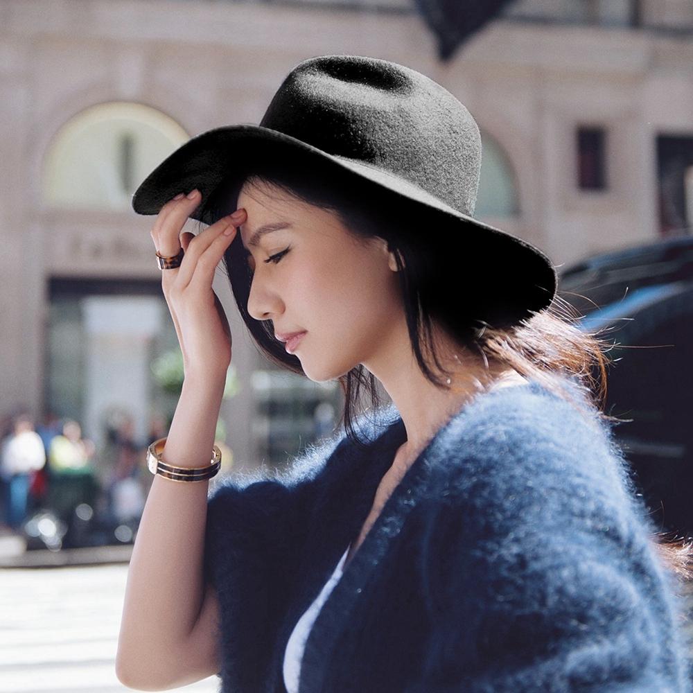 韩版优雅帽子