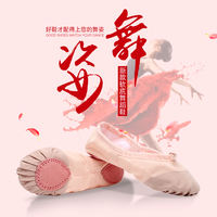 Adult young children dance shoes girls soft bottom shoes ballet shoes male body cat claw dance shoes yoga shoes